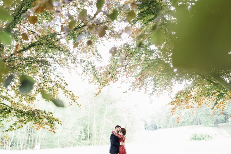 hill gardens and pergola wedding