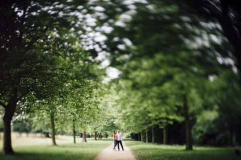 stowe gardens engagement