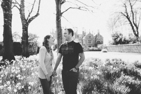 holdenby house engagement photography