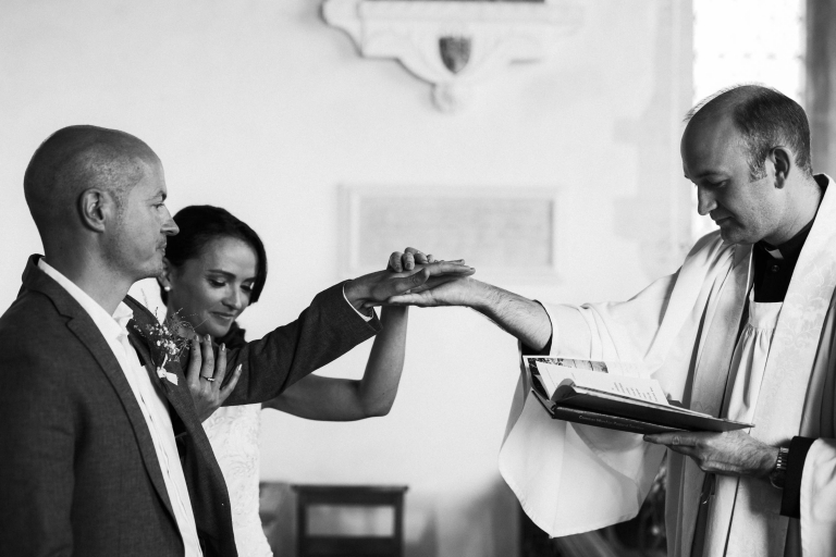 blessing of married couple